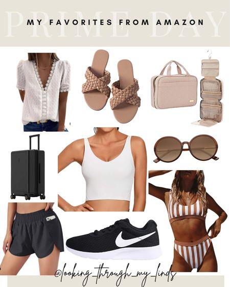 Prime day is back! Shop my favorites   Sandals Suitcase Workout gear Bikini Swimsuit Cover-up Travel case  #LTKsalealert #LTKunder50 #LTKtravel