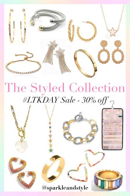LTK Day Sale: The Styled Collection - 30% off sitewide    http://liketk.it/3hz1t @liketoknow.it #liketkit #LTKDay #LTKsalealert #LTKunder50   Summer jewelry, summer accessories, necklaces, earrings, bracelets,  rings, statement earrings