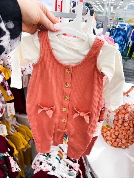 Baby girl ribbed stretch romper and shirt sizes 0-18month    #LTKSeasonal #LTKbaby