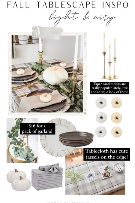 Have seen the bright & airy look done for the fall. It's so stunning & such a neutral for any house vibe.  #LTKunder50 #LTKsalealert #LTKhome