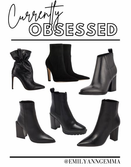 Fall shoes, fall boots, fall booties, black booties, Nordstrom booties, fall 2021 best booties, Steve Madden, Emily Ann Gemma  #liketkit #LTKstyletip #LTKshoecrush http://liketk.it/3n6Mz