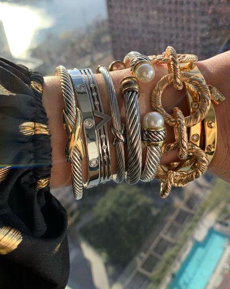 Bracelets from the styled collection 40% off sale 9/19/21 - 9/21/21 during the LTKSALE! Happy shopping!     #LTKSale #LTKunder100 #LTKunder50