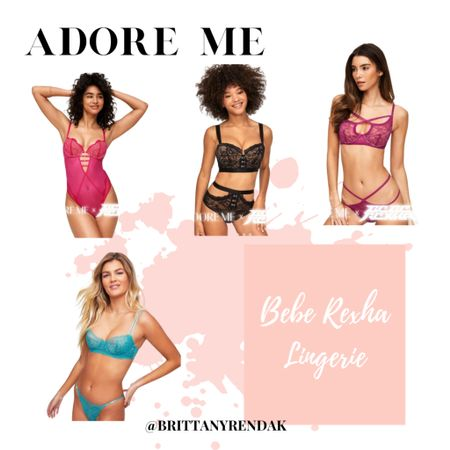 Adore me Lingerie. Adore me Bebe Rexha lingerie collection  Lingerie haul  Styling laundry as every day outfits  #adoreme #lingerie #LTKstyletip #LTKunder50    @liketoknow.it #liketkit http://liketk.it/3jljP
