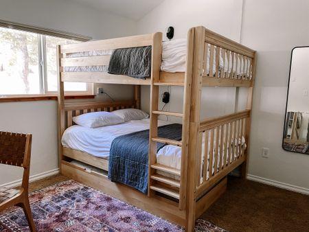Queen over queen bunk bed  #LTKfamily #LTKhome