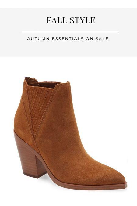 Fall booties, Nordstrom sale, suede booties, fall boots, finding beauty mom,   #LTKshoecrush #LTKstyletip #LTKsalealert