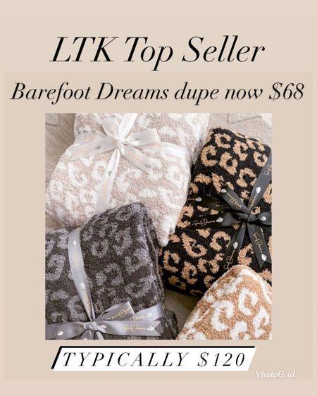 The Barefoot dreams dupe blanket is now $68 during the LTK Day Sale    #LTKhome #LTKsalealert # http://liketk.it/3hx4B #liketkit @liketoknow.it #LTKDay    Hermès dupe blanket Cozy blankets  Gifts for mom  Gifts for sister in law  Hostess gift  Housewarming gift  Barefoot dreams dupe  Hermès  Hermès dupe blanket  Home decor  Leopard blanket
