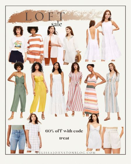 Loft sale! 60% off sale items.  Some of the items in my cart are as low at $3!  #LTKunder50 #LTKsalealert #LTKstyletip