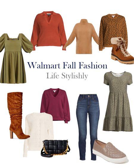 Walmart fall fashion is so good this season. @walmart @walmartfashion #ad #walmartfashion  #LTKSeasonal #LTKunder100 #LTKunder50