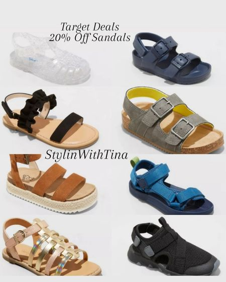 Target Deals 20% off kids sandals Kids sandals Summer footwear http://liketk.it/3i8Ni #LTKsalealert #LTKstyletip #LTKunder100 #LTKunder50 #LTKfamily #LTKbaby #LTKkids #LTKtravel #LTKworkwear #LTKshoecrush #LTKswim #LTKfit #LTKhome @liketoknow.it #liketkit