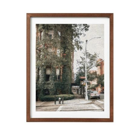 Painting Inspired Ivy Uptown Corner, art, home decor    #LTKunder50 #LTKSeasonal #LTKhome