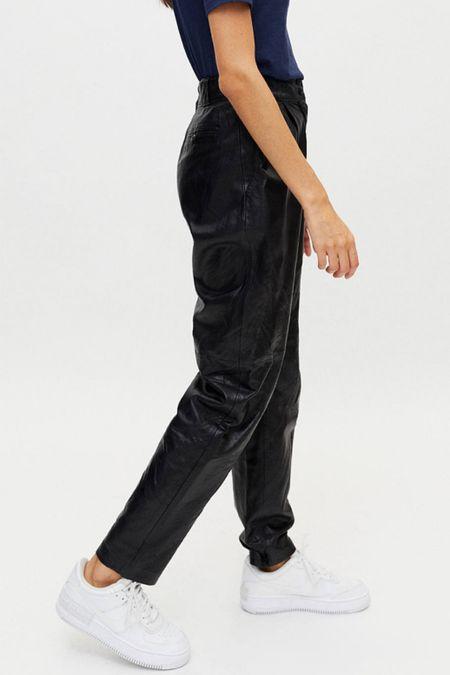 Leather pants   #LTKHoliday #LTKworkwear #LTKSeasonal