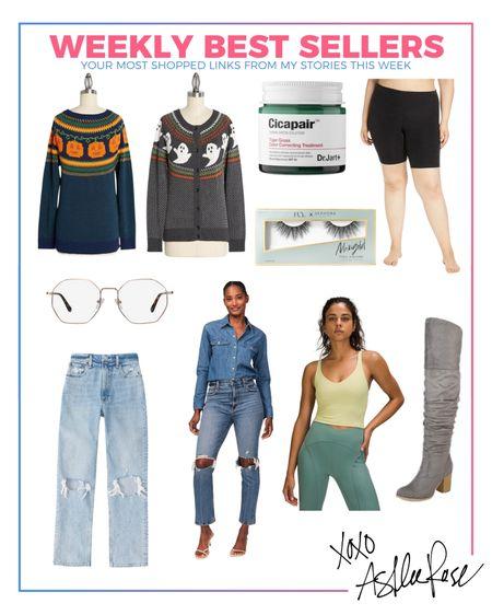 Fall style, curvy jeans, best sellers, favorite boots, fake lashes  #LTKstyletip #LTKshoecrush