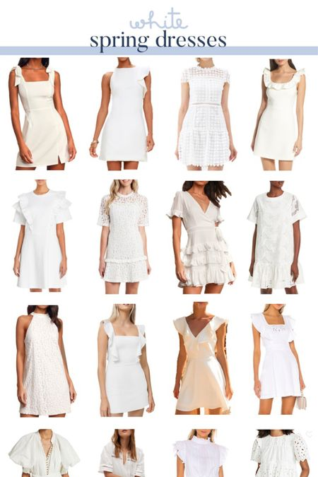 Searching for the perfect graduation dress? Or are you a bride on the hunt for the perfect white dress for a rehearsal dinner or shower? Well, I've got you covered! I shared so many white dresses at a variety of price points in Tuesday's blog post at www.PrepInYourStep.com. @liketoknow.it #liketkit #LTKwedding http://liketk.it/3d6cB #LTKunder100