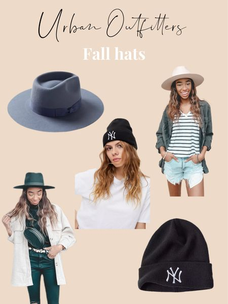 Urban outfitters fall hats! I'm obsessed with my fedora and this NY beanie find!   #LTKSeasonal #LTKstyletip #LTKunder50