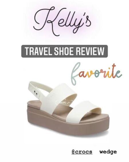 Hands down my most favorite travel sandel EVER - from Crocs !  http://liketk.it/3jbBB #liketkit @liketoknow.it #LTKtravel #LTKshoecrush #LTKstyletip