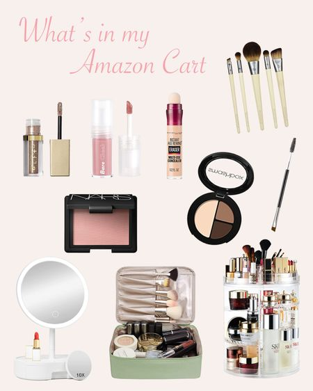 What's in my Amazon Cart!!! Some makeup finds!!   #LTKbeauty #LTKunder100 #LTKunder50