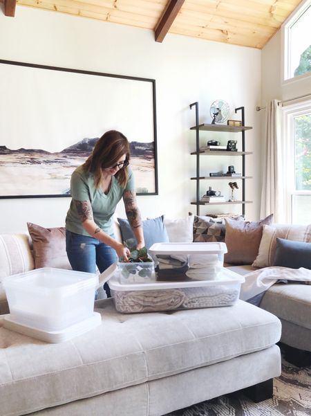 My favorite go-to storage containers and where to find them.