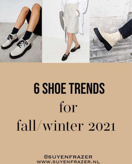 These are the shoes trends for fall 2021, chunky Chelsea boots, loafers, ugly shoes with socks, retro sneakers and more 🤩  #LTKunder50 #LTKstyletip #LTKshoecrush