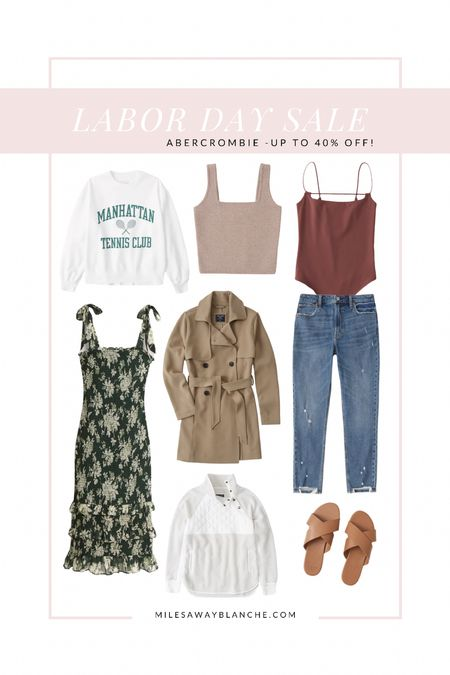 Abercrombie Labor Day sale! Up to 40% off! Many options with this sale   #LTKstyletip #LTKsalealert #LTKunder100