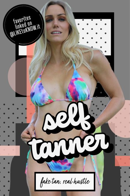 Self tanners linked. I'm using one glow pad and the results are worthy of a few hour wait. Plus firm skin and exfoliation from one wipe.   #LTKbeauty #LTKfit #LTKswim