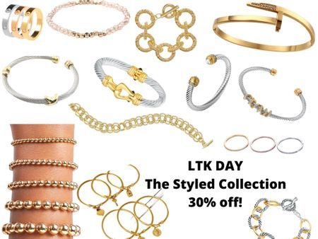 http://liketk.it/3hhsN #liketkit @liketoknow.it #LTKDay #LTKsalealert #LTKstyletip  The Styled Collection is having a pretty great sale!  30% off in app purchases. Ends June 13th.  Code: LTK30 Linked up a lot, of what I already own & a few others I'm eye balling.  Designer look likes, without the price tag.   Price ranges: $19-$28
