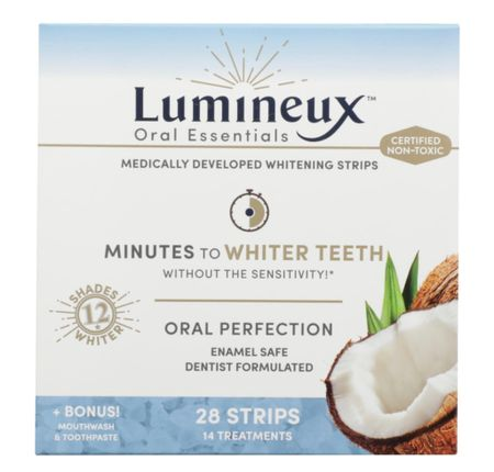 Sensitive Teeth Whitening Miracle Worker Most Recommended by My Followers! Lumineux Oral Essentials Whitening Strips  #LTKbeauty