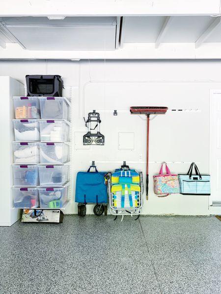 Garage organization with Elfa system. #garage #garageorganization #garagestorage #elfa #elfagarage  #elfasale  #LTKhome