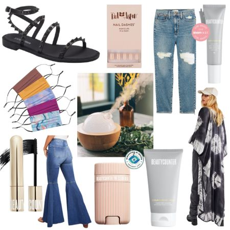 This week's Best Sellers  Sandals : At Home Mani : Nails : Jeans : Denim : Skincare : Beautycounter : Mask : Essential Oil Diffuser : Free People : Kimono : Duster : Mascara : Bell Bottom  #LTKunder50 #LTKhome #LTKbeauty