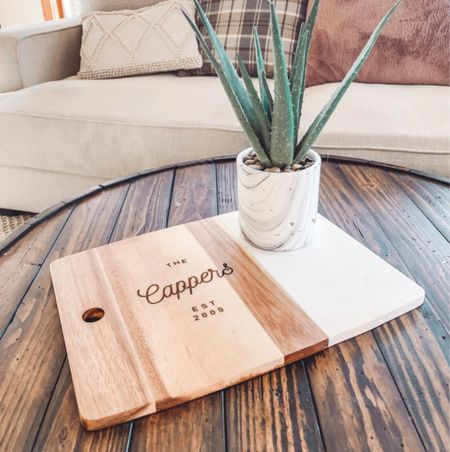 ETSY SMALL BUSINESS SATURDAY • personalized charcuterie board, customized gifts home decor, gifts for parents, gift for mom   #LTKgiftspo #LTKsalealert #LTKhome