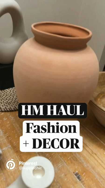 @hmhome + fashion early FALL haul ft vessels candlesticks home decor for coffee table sideboard & buffet GET 20% off $75 ends today  #LTKunder50 #LTKhome #LTKSeasonal