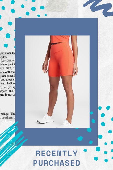✨ Just bought some new bike shorts! ✨   http://liketk.it/372Cv #liketkit @liketoknow.it #StayHomeWithLTK #LTKfit #LTKunder100   Athleta, workout shorts, athletic clothing, at home workout, fitness clothing, athleisure