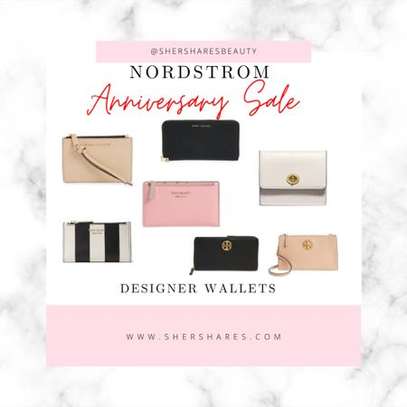 Wallets on sale during Nordstrom Anniversary! Tory Burch, Marc Jacobs, Coach and Kate Spade! #nsale   #LTKitbag #LTKsalealert