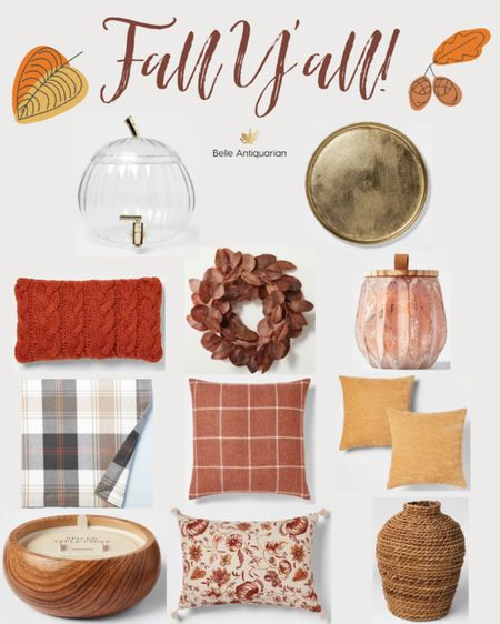 Very affordable fall finds! Check these out before they're gone.   #LTKunder50 #LTKfamily #LTKhome