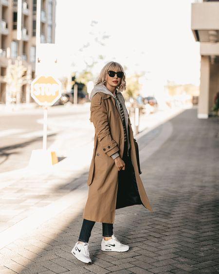 Trench coat & sweatshirt street style  http://liketk.it/2FXN8 #liketkit @liketoknow.it #LTKfamily #LTKstyletip #LTKtravel #LTKeurope