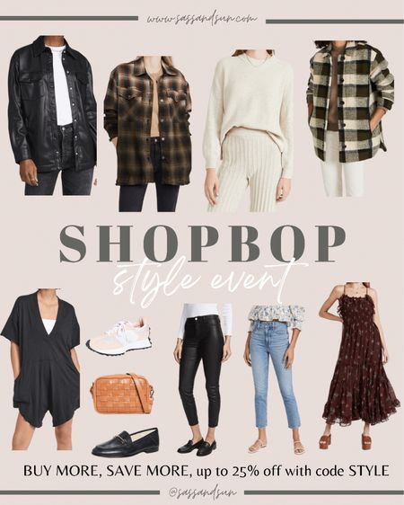 SHOPBOP STYLE EVENT! Up to 25% off! BUY MORE SAVE MORE! Here are my fave finds! Fall style, casual style   #LTKsalealert #LTKshoecrush #LTKunder100