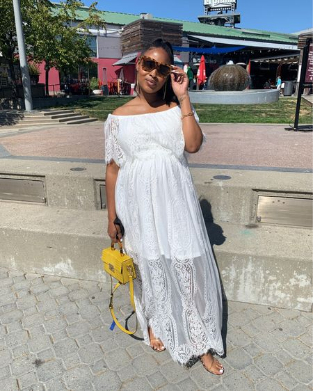 Maternity style or not!   Stylish dresses that grow with your growing belly! I love items that aren't necessarily maternity but offer enough stretch to leave you feeling comfortable and fabulous.   Shop this look below.  #liketkit @liketoknow.it http://liketk.it/3iG3Q