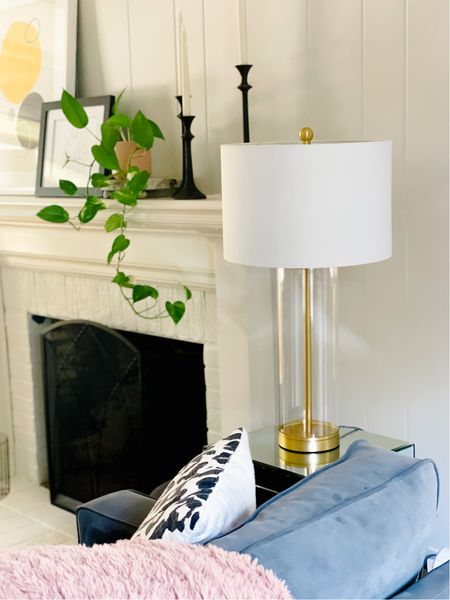 this beautiful table lamp is a look for less!   #LTKunder100 #LTKhome #LTKstyletip