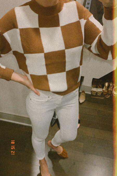 Checked Out 🤎   #LTKunder100 #LTKworkwear #LTKSeasonal
