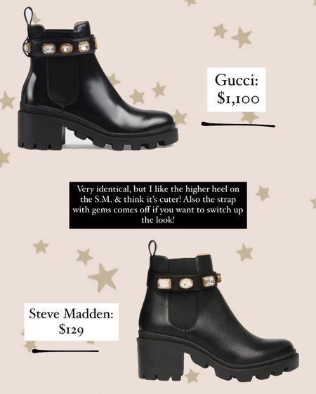 Gucci dupes! Steve Madden! Size down half a size at least! http://liketk.it/30D9W #liketkit @liketoknow.it #LTKshoecrush #LTKstyletip #LTKsalealert