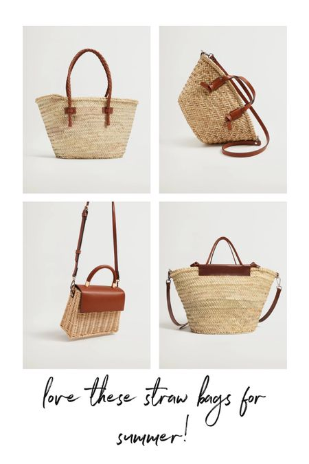 Straw bags, straw purse @liketoknow.it #liketkit http://liketk.it/3gSpk #LTKunder100 #LTKitbag