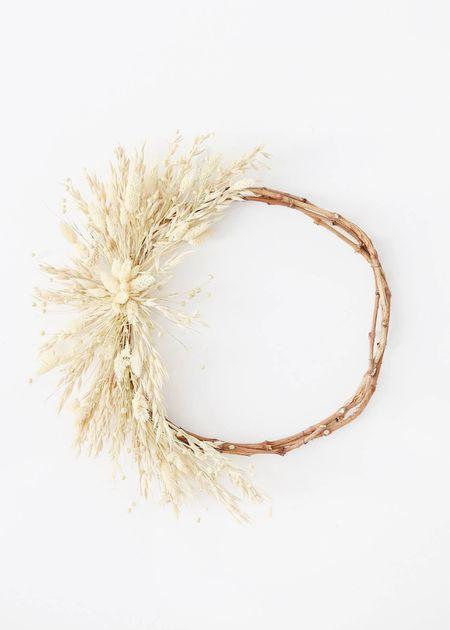 Live a simple fall wreath 🍂🤍    #LTKunder50 #LTKSeasonal #LTKstyletip