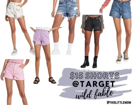 Wild Fable Shorts @Target ONLY $15 !!!!  #target #denim #summerstyle http://liketk.it/3fh1z #liketkit @liketoknow.it #LTKsalealert #LTKstyletip #LTKunder50
