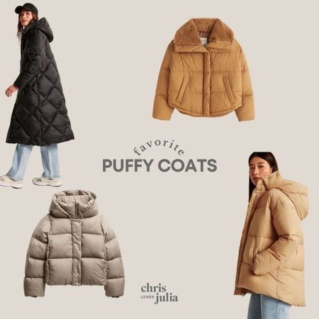 Puffy Coats, Winter Coats, Fall Style, Puffer Jacket   #LTKstyletip #LTKGiftGuide