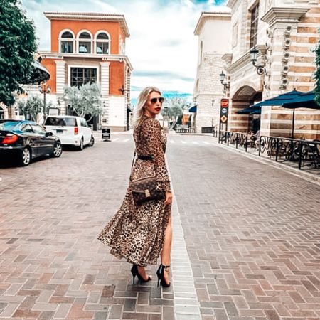 Linked a ton of cute leopard dress options! I love leopard paired with monogram from a Louis Vuitton bag and a red lipstick! Linked my black heels, too! #competition    #LTKbeauty #LTKshoecrush #LTKSeasonal