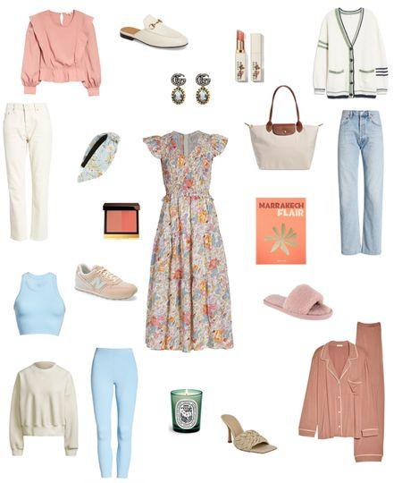 Current favorites 🤍 #ootd #fashion #fall #fallfashion #Shopbop #nordstrom #alo #sea #agolde #wishlist #pajamas #cardigan   #LTKsalealert #LTKunder100 #LTKunder50