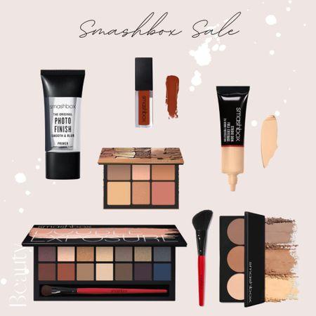 top picks from the smashbox sale 💄 |eyeshadow palette | foundation | contour | bronzer | blush | lipstick | liquid lipstick | primer | makeup |   #LTKsalealert #LTKbeauty #LTKVDay