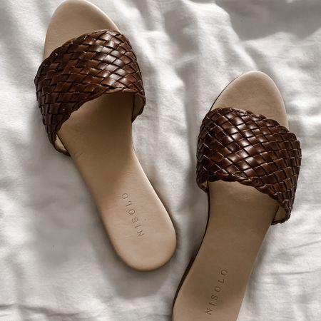 The perfect summer slides, the Nisolo Isla Woven Sandals   #LTKSeasonal #LTKtravel #LTKstyletip