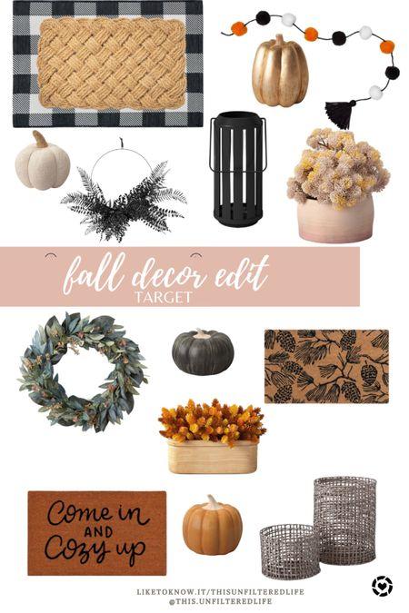 Fall home decor and front porch decor from Target #falldecor #halloweendecor #targetstyle   #liketkit #LTKunder50 #LTKstyletip #LTKSeasonal