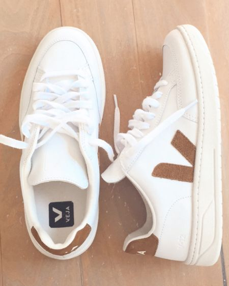 White sneakers sized down a half size   #LTKshoecrush