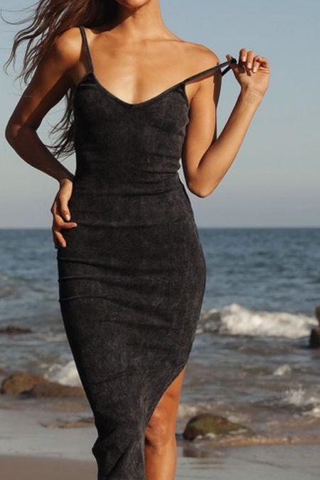 Mineral wash dress perfect for local summer at the beach   #LTKSeasonal #LTKstyletip #LTKtravel